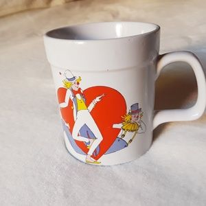 Vintage Clown Heart Mug